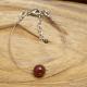 Bracelet 1 Agate Rouge