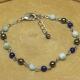 Bracelet Chaîne Hématite Lapis-Lazuli Larimar