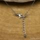 Collier Fil Inox Rhodochrosite Ronde & Coeur