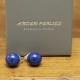 Boucles d'oreilles Hématite & Agate Rouge