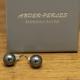 Boucles d'oreilles Argent 925 & Hématite