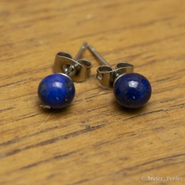 Boucles Oreilles lapis-Lazuli