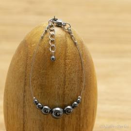 Bracelet Hématite Ronde