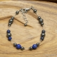 Bracelet Lapis Lazuli Hématite