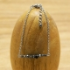 Bracelet chaîne Hématite Billes Inox